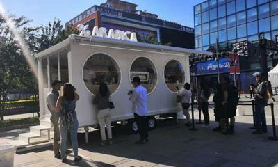 %Arabica在北京三里屯开快闪店 200㎡正式门店年底开业