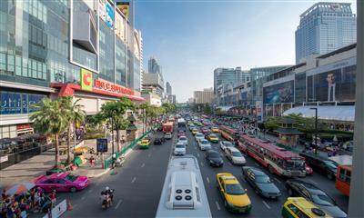 曼谷13个典型购物中心及商业项目考察与深度交流