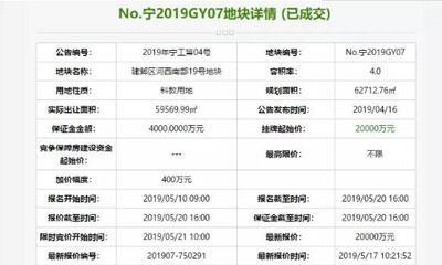 小米2亿底价南京拿地建总部基地 与阿里成邻居