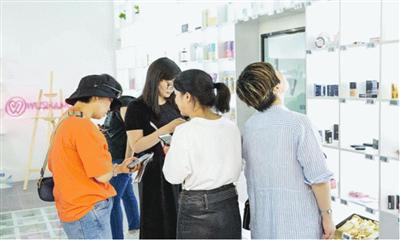 """520""""武商网购全球"""" 体验店在武商世贸广场正式开业"""