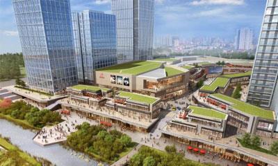"""""""一城一色""""的绿地缤纷城落地广州 打造8.1万㎡MALL+街区"""