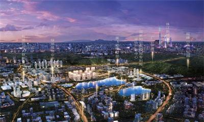 中新广州知识城将打造创新性产业新城风貌 龙湖双珑原著建低密度生态社区
