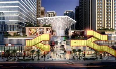 楚雄花园城商业广场拟定2020年初开业 最新施工进度一览