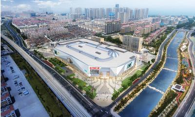 威海万达广场设计方案披露 购物中心总建面11万平方米