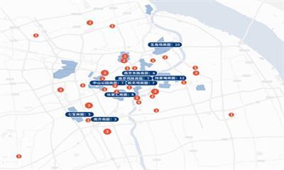 大数据看上海网红餐饮选址