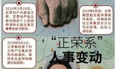 """人事再生动荡 千亿""""新兵""""正荣上市一年考"""