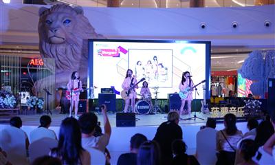 重庆棕榈MALL举办绿泉音乐节:商旅融合打造体验式消费新业态