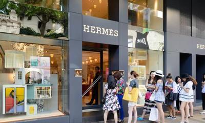 爱马仕第二季度亚洲销售猛涨20% 市值已反超Gucci母公司