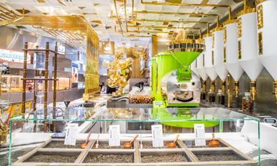 乐乐茶亚洲旗舰店亮相上海合生汇 1000㎡面积汇聚11个子品牌