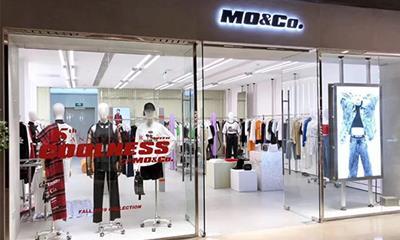女装品牌MO&Co.更换Logo