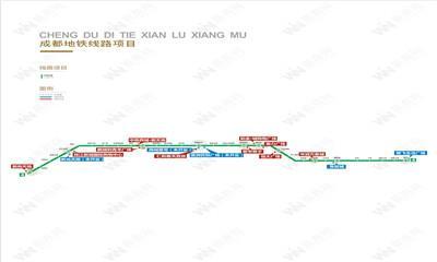 成都地铁4号线 串起成都重要的文化和商业地标