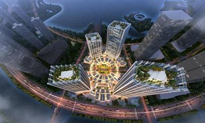 长沙梅溪湖达美寰宇中心公示 打造31万方TOD物业