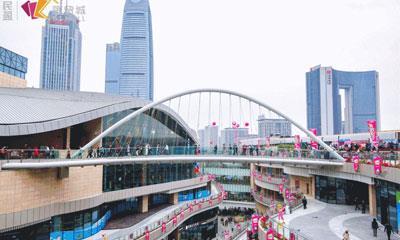 """开业半年客流近3000万 民盈·国贸城的""""商业创新力磁场""""效应"""