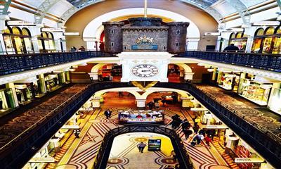 维多利亚女王大厦:弱化买卖属性 从观光到消费的高级转化