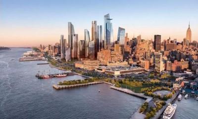 """纽约哈德逊城市广场:耗资250亿美金 打造""""未来之城"""""""