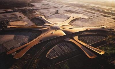 """北京大兴国际机场综合服务楼正式命名为""""华润置地中心"""""""