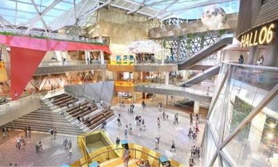 武汉绿地缤纷城11月8日开业 将带来约39家首进品牌