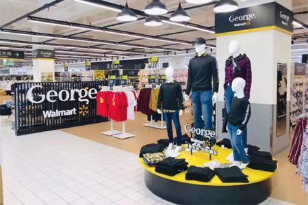 沃尔玛中国推出自有品牌George 试水快时尚前途未卜