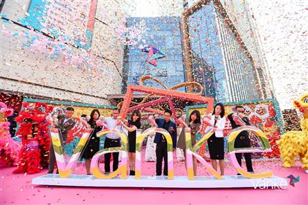 致敬城市,致敬中原 高新·万科广场9月21日正式开业