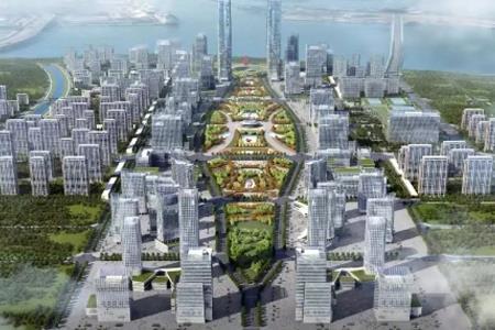 绿地哈尔滨·东北亚国际贸易中心启动 地上建面约361万㎡