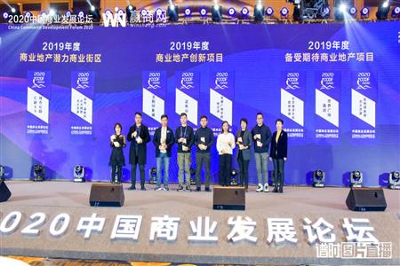 哈尔滨汇丽投资一举斩获2020中国商业发展论坛两项大奖