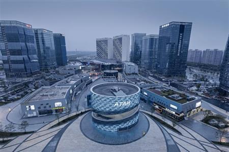 宝龙商业与绍兴柯桥区政府中国轻纺城商务总部园就柯桥中纺CBD达成商业运营合作