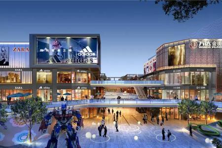 威海万达广场正式封顶 预计2020年12月31日开业