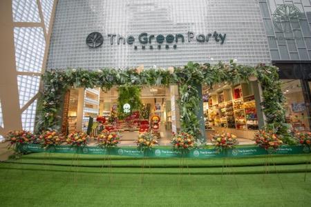 The Green Party空降武汉 打造体验式家居生活购物馆