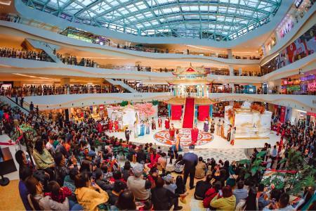 日均客流20万、销售额近亿丨双节期间西安各大商业中心数据盘点