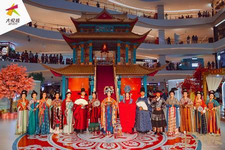 国韵大赏 看大悦城如何玩转东方国韵四季之美!