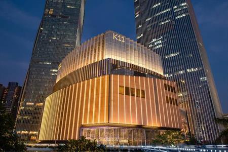 K11黄金周销售额大涨:香港K11 MUSEA上升311%、上海K11上升93%