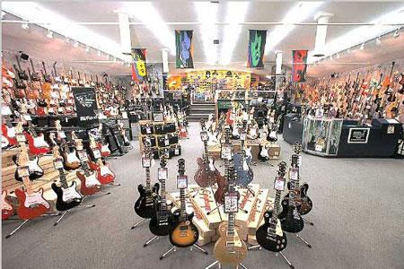 美国最大乐器零售商吉他中心(Guitar Center)申请破产保护