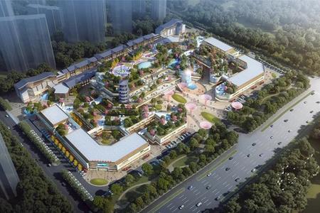 六安山水城市奥特莱斯规划出炉 总建筑面积约15万㎡
