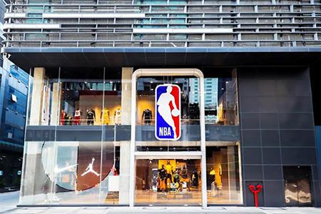 NBA全球最大旗舰店落户广州 占地达2680㎡