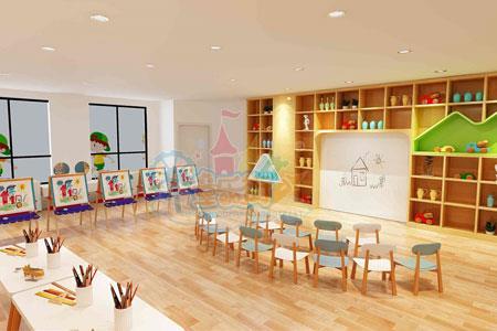 儿童美术培训机构设计装修需要考虑的三大要素
