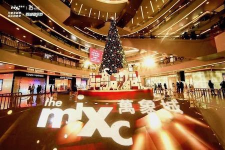 31图览尽杭州10+商场圣诞美陈