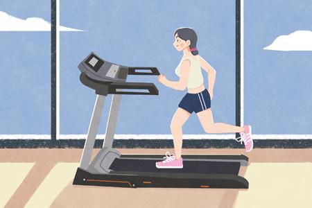90后健身新姿势:熬夜下单跑步机、把家变成健身房
