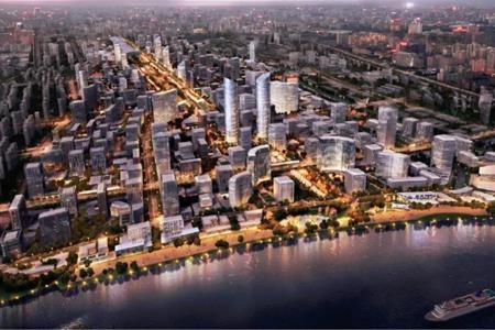 上海吴淞创新城先行启动区首发地块将建3栋摩天大楼