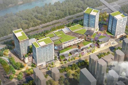 杭州桃源宝龙广场正式奠基 预计2021年12月开业