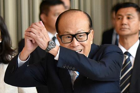李嘉诚及李泽钜增持长实及长和股份 共涉资6.6亿港元