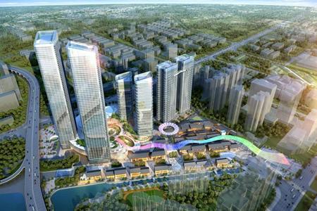 广州TIT合生国际广场今日开工 总建筑面积约85万㎡