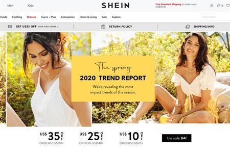 """快时尚跨境电商品牌""""SHEIN""""拟最快于2020年完成赴美上市"""