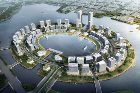 郑州华夏幸福产业新城项目及龙湖金融岛外环项目总投资达164亿美元