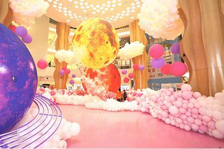 大悦城系列购物中心2019春季营销:花海、告白气球展……