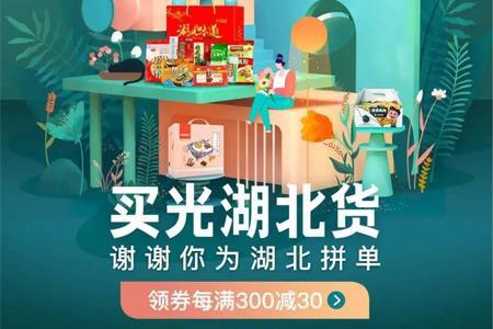 """京东追加价值1亿元资源 开辟""""买光湖北货""""会场"""