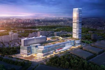 """中环""""烂尾楼""""爆破 未来将建超20万方新城市综合体"""