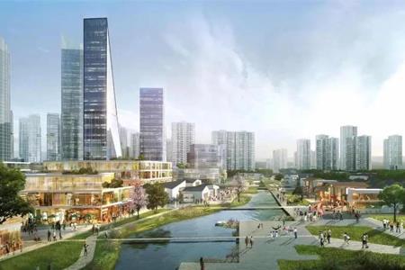 """华润置地深圳最大旧改项目命名为""""金蚝小镇"""" 用地面积140万㎡"""