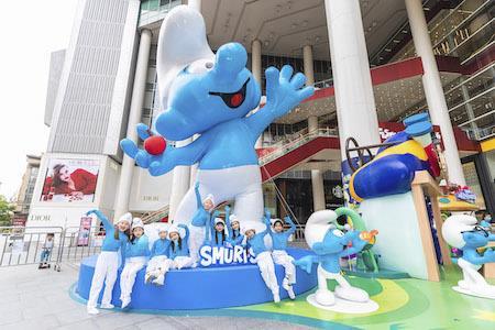 蓝精灵乐园奇趣嘉年华开启全国巡展 首站亮相上海世茂广场