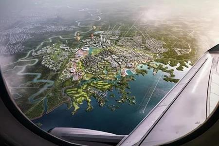 成都东部新区总体规划出炉:双城一园、一轴一带