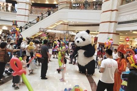 """当""""五一""""遇到""""五五购物节"""" 上海各区域商业体表现如何?"""